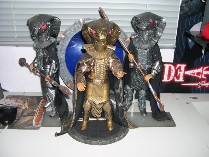 Stargate équipe SG1 et autres protagonistes Dscn0819