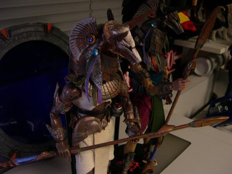 Stargate équipe SG1 et autres protagonistes Dscn0823