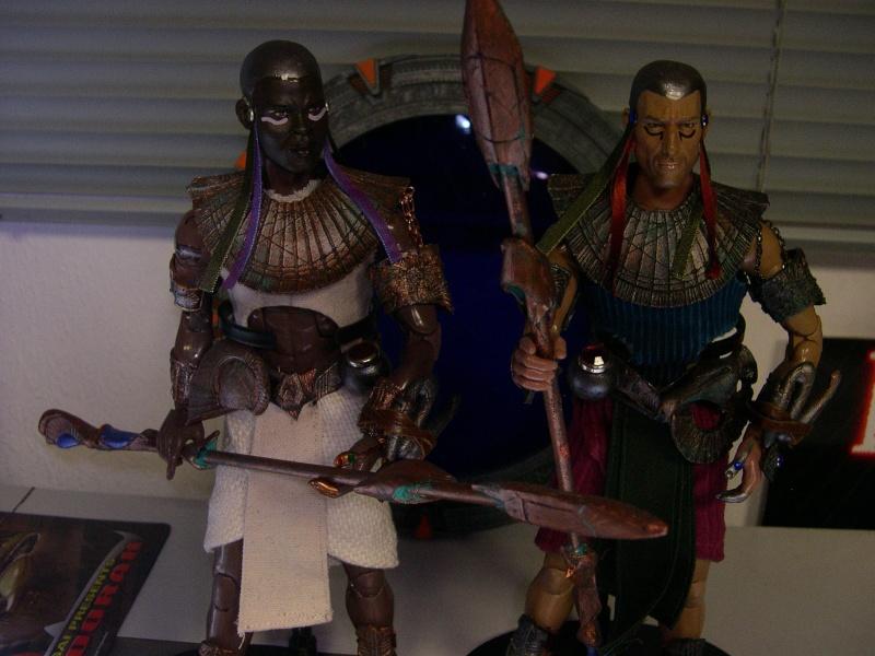 Stargate équipe SG1 et autres protagonistes Dscn0824