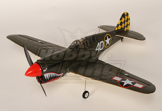 Warbird P-40 mini de HobbyKing Mini-p10