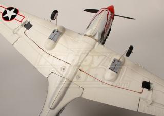 Warbird P-40 mini de HobbyKing Mini-p12