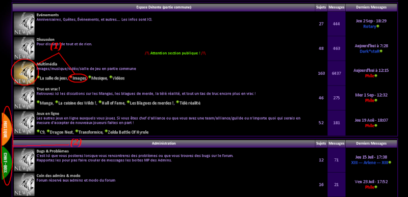How to use : Le forum Tuto_210