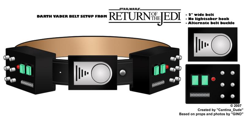 Tout savoir sur le costume de Darth Vader Beltte10