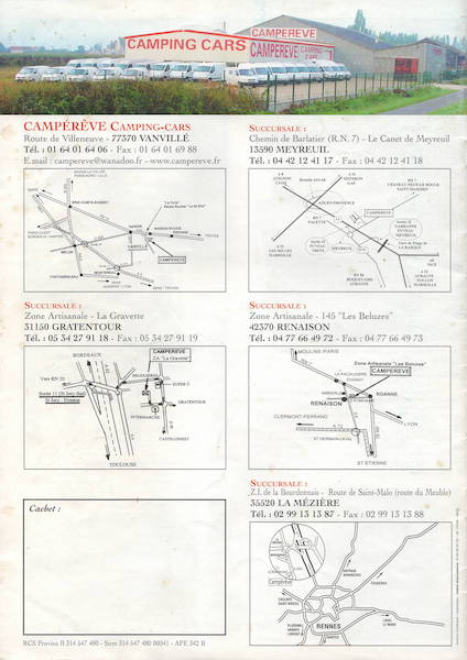 Présentation Campérêve Cap Roca Catalo38