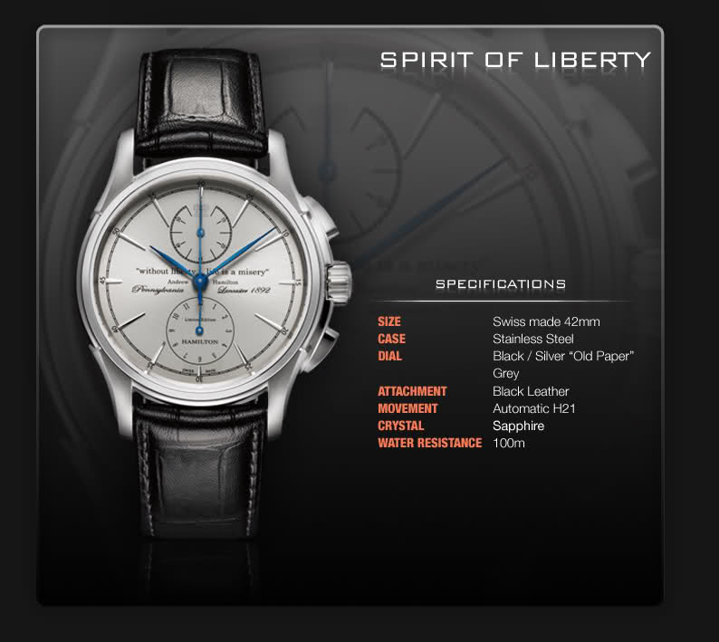 Hamilton spirit of liberty 95vl1c10