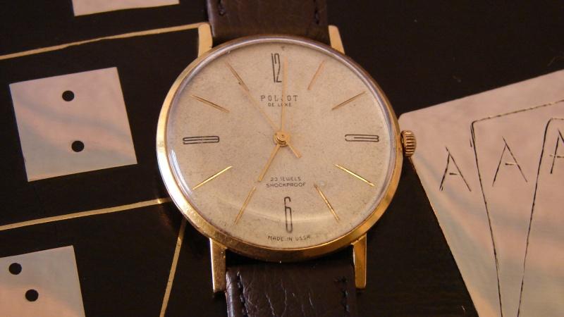Ma nouvelle montre... est une Poljot - Page 2 Dsc00458