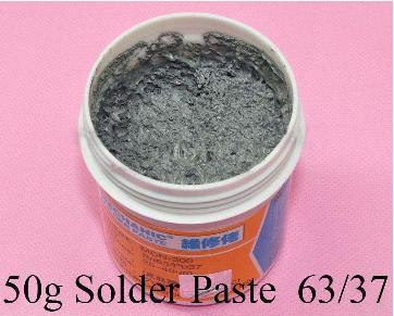 Clase práctica de soldadura de estaño, pasta para soldar o paste flux, trucos para fijar estaño en conectores Pasta_10