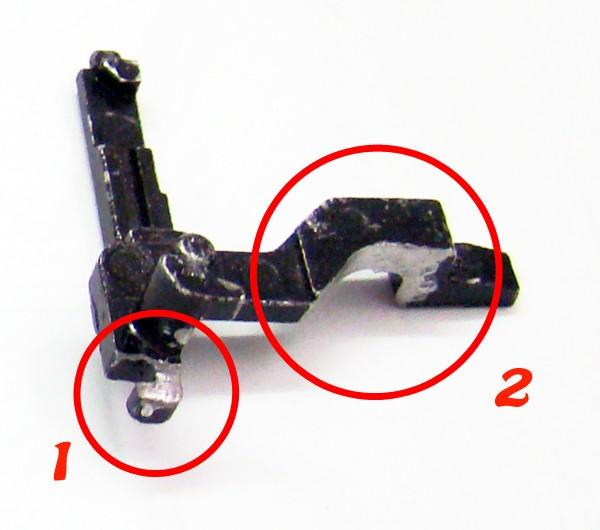 Problema con selector de tiro en M14 669 JAE-100 Kart Cut Off Lever a fondo Pieza_10