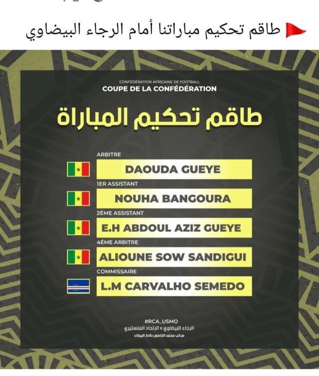 CAF.  Raja Club Athletic - USM 20210211