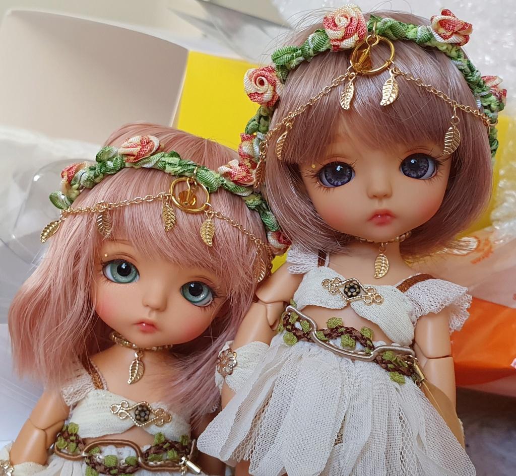 News doll Flower Garden kenta S.Belle tan 20200511