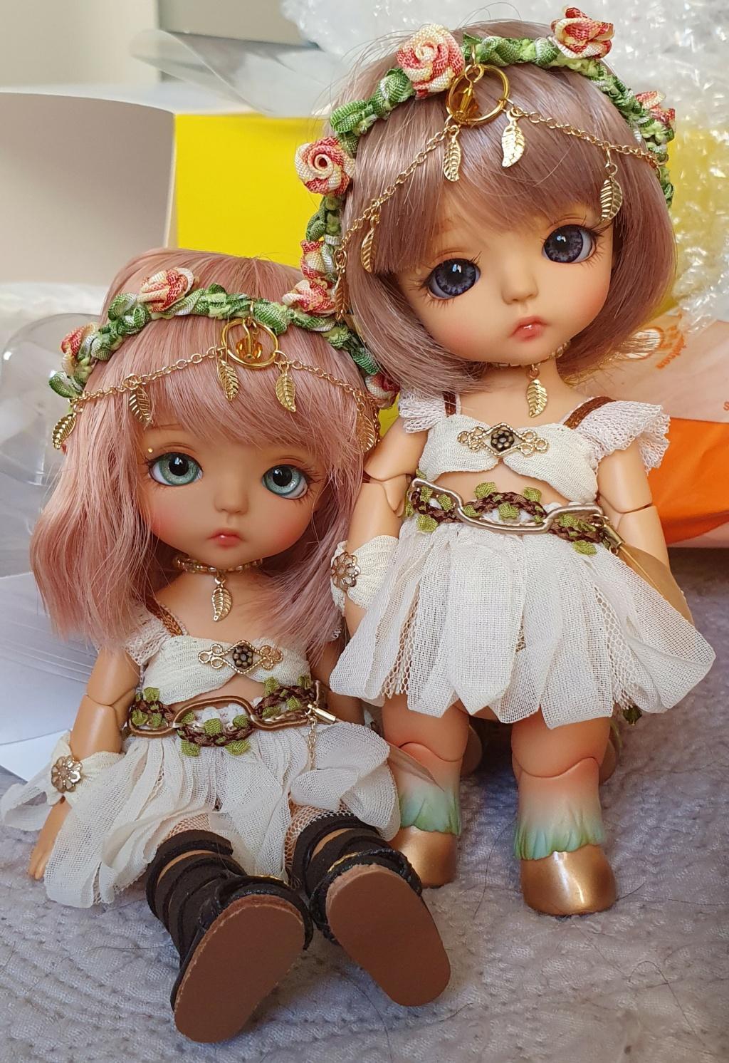 News doll Flower Garden kenta S.Belle tan 20200512