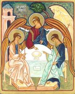 Joyeuse fête de la Sainte-Trinité de DIEU à tous!! Sainte10