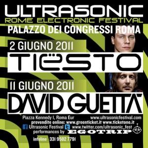 David Guetta elettronico e Dj Tiësto ultrasonico, a Roma!  54545410