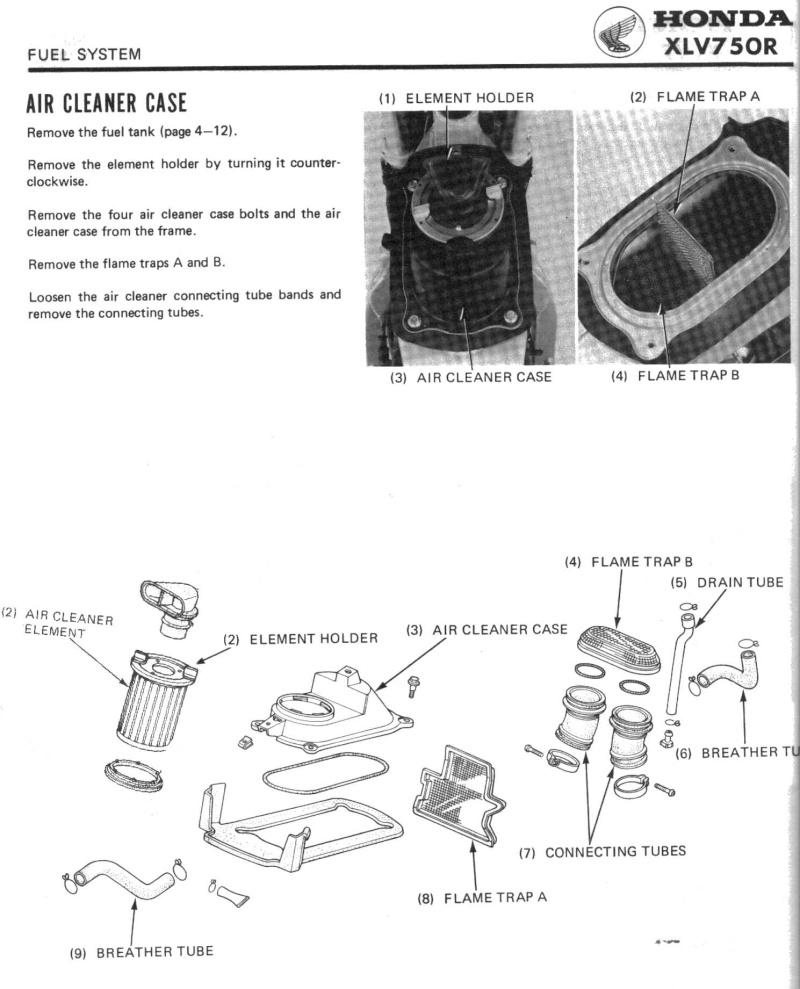 XLV 750  - nombreuses pièces Filtre10