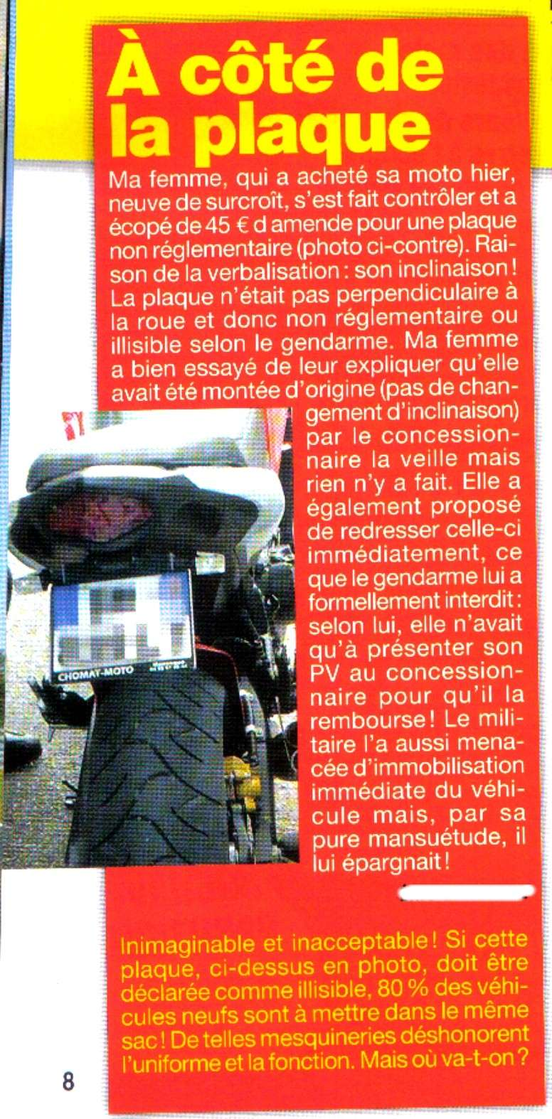 L'appel du 18 Juin alias manif Motards nationale Plaque10