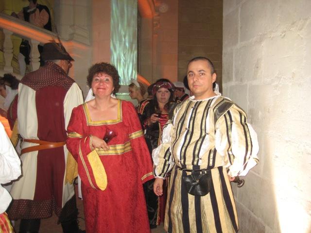 le bal de Versailles à Chambord, Octobre 2010 Lebalc13