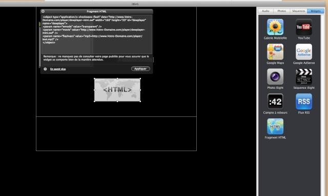 Dewplayer, un lecteur MP3 en flash Captur16