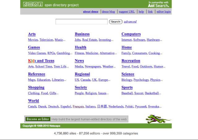 référencer - Réferencer son site web Dmoz10