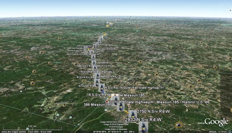 Route historic 66 : le tracé  par Shangai - Page 4 De_sul10