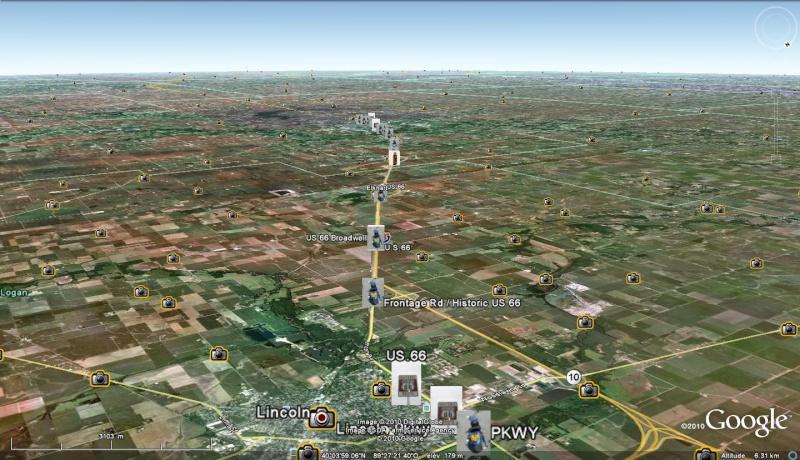 Route historic 66 : le tracé  par Shangai - Page 3 Lincol11