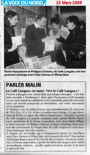 "Mars 2009: ""Parler malin""  Tmp-137"