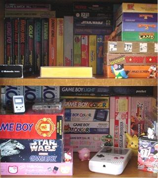 Ma p'tite collec Game Boy / Nintendo / SNK / ARCADE.. [MAJ mai 2013] - Page 2 Etagar10