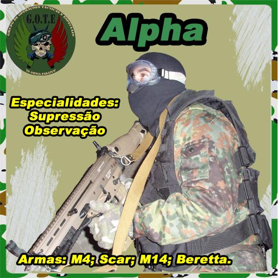 Equipamento de comunicação Alpha10
