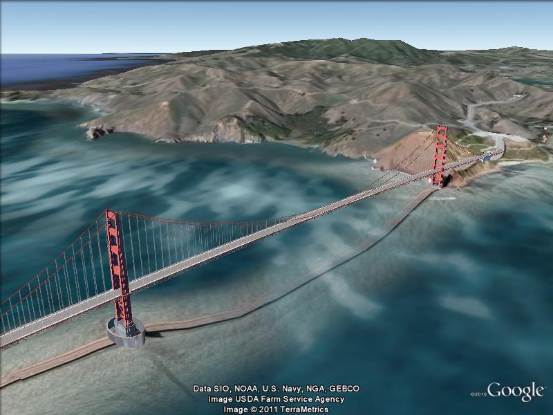Les ponts du monde avec Google Earth - Page 13 Ggate011