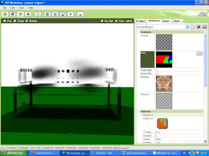 Mappe correcte mais objet transparent ... (résolu) Impecr10