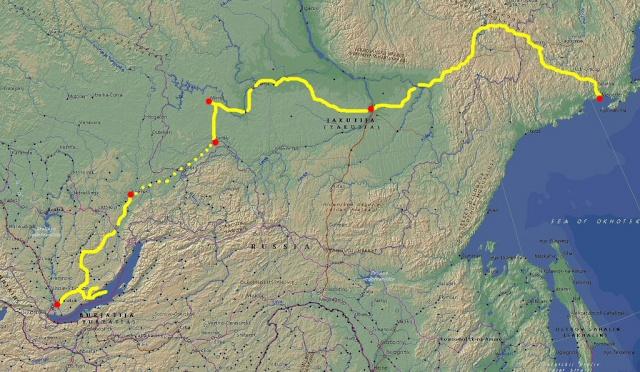 Road of Bones (la strada delle ossa) - Kolymskaya trassa (il tracciato della Kolyma) 39280710