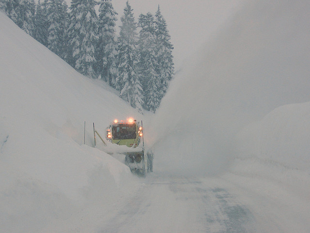 Le leggendarie nevicate del Mount Rainier 40117010