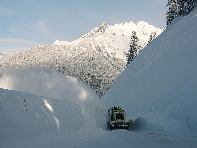 Le leggendarie nevicate del Mount Rainier 40117011