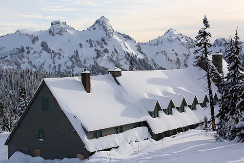 Le leggendarie nevicate del Mount Rainier 43127210