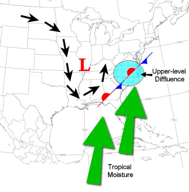 Storiche piogge lungo la costa orientale degli Stati Uniti Compos10