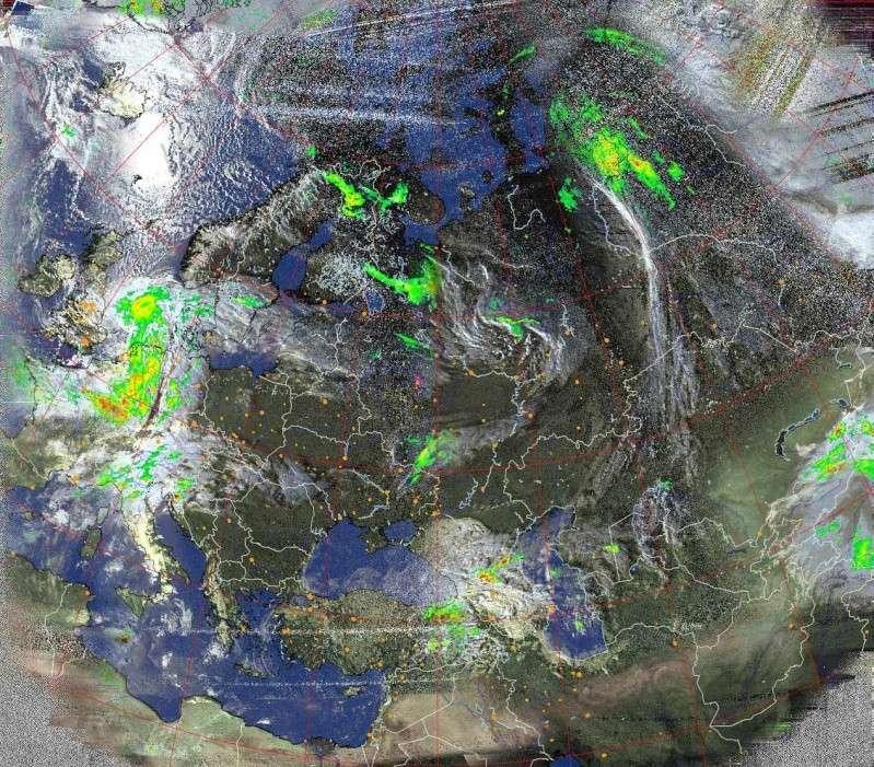 Mappa precipitazioni sempre aggiornata Hvct-p10