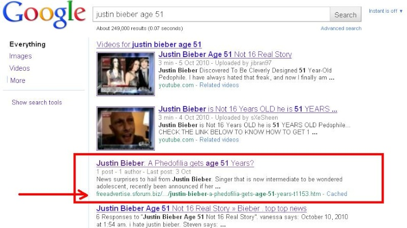 First Page On Google here the proof 1st_go11