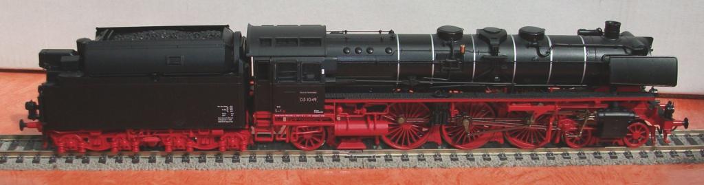 BR 03.10 der DB mit Altbaukessel in HO Br_03_56