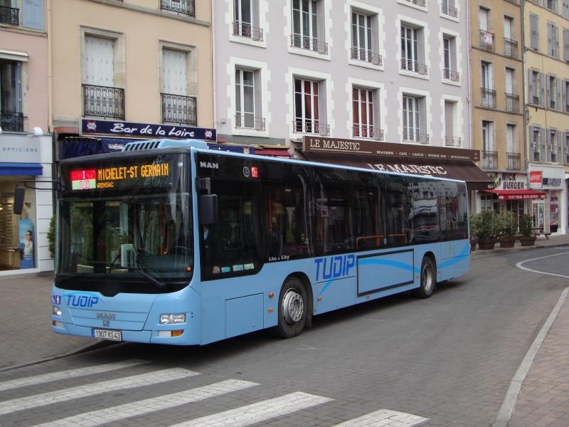 [Le Puy en Velay] Quelques nouvelles du réseau TUPID 02110
