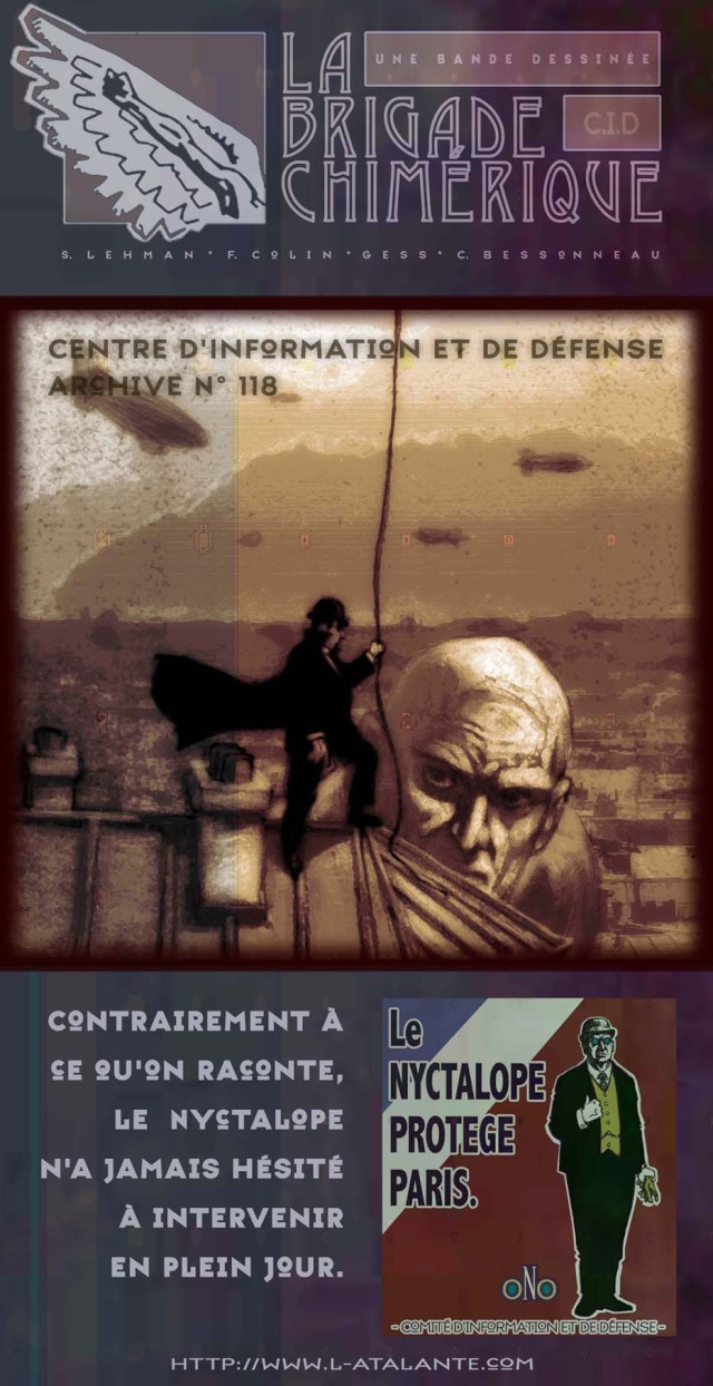 La Brigade Chimérique [Serge Lehman et Fabrice Colin, Gess] Brigad11