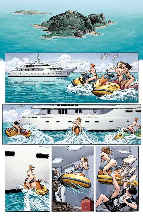 X-Men : Jeunes filles en fuite [Chris Claremont, Milo Manara] X-menj10