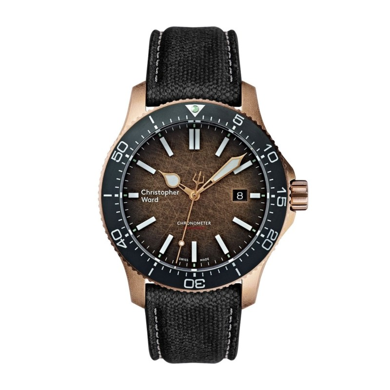 "ward - Nouvelle Christopher Ward C60 Trident Bronze ""Ombré"" COSC Limited Edition 20181113"