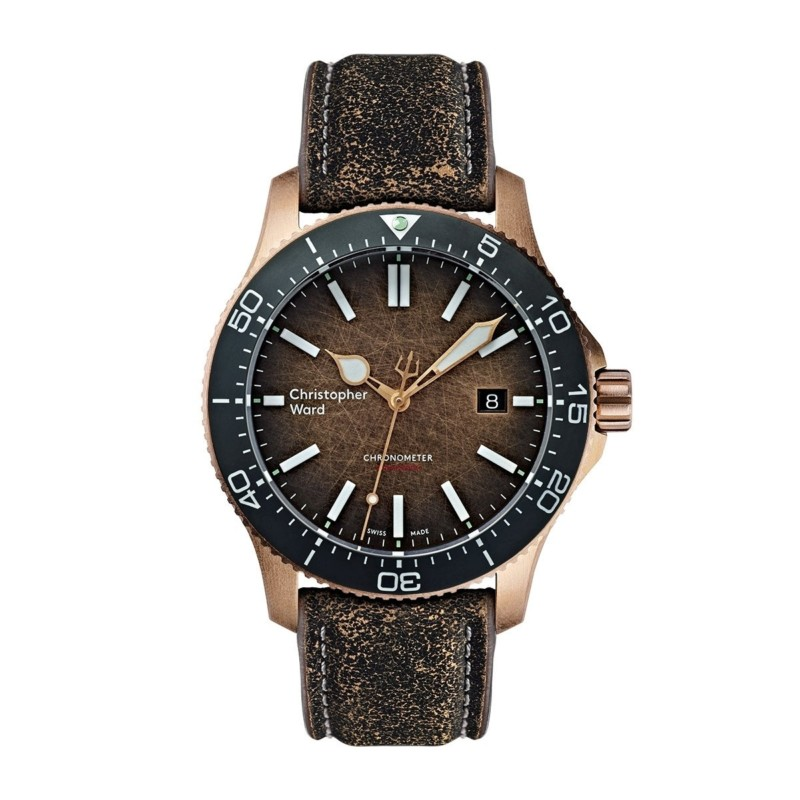 "ward - Nouvelle Christopher Ward C60 Trident Bronze ""Ombré"" COSC Limited Edition 20181117"