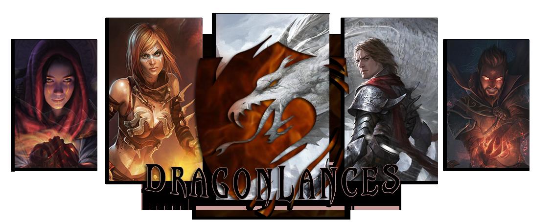 DRAGONLANCES - LA MAGIA E LA LEGGENDA