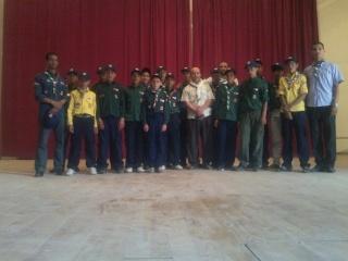 الفوج يشارك في الإحتفالات الولائية المخلدة لليوم الوطني للكشاف 2011-036