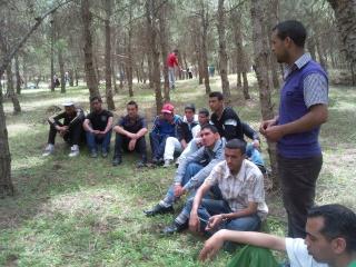 الفوج ينظم رحلة ترفيهية للطلبة المقبلين على إمتحان البكالوريا 2011-037