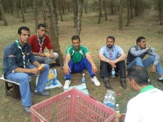الفوج ينظم رحلة ترفيهية للطلبة المقبلين على إمتحان البكالوريا 2011-039