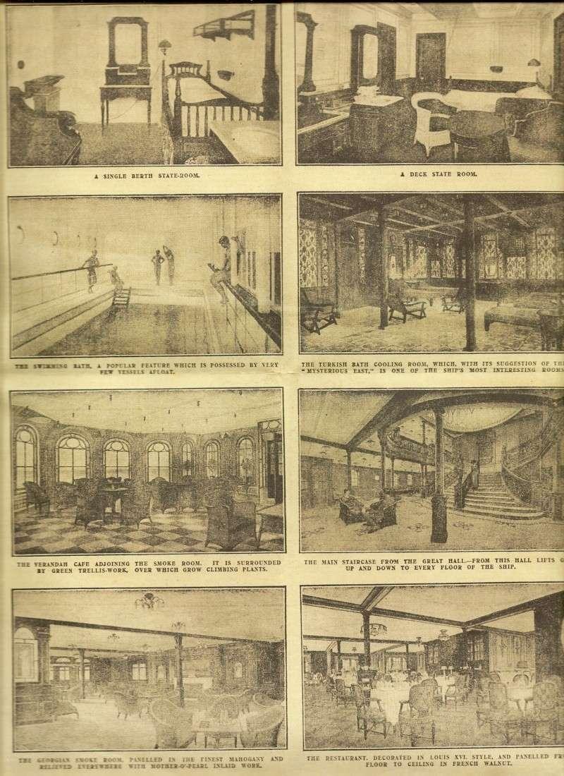 Le naufrage du Titanic fait la une des journaux Numari12