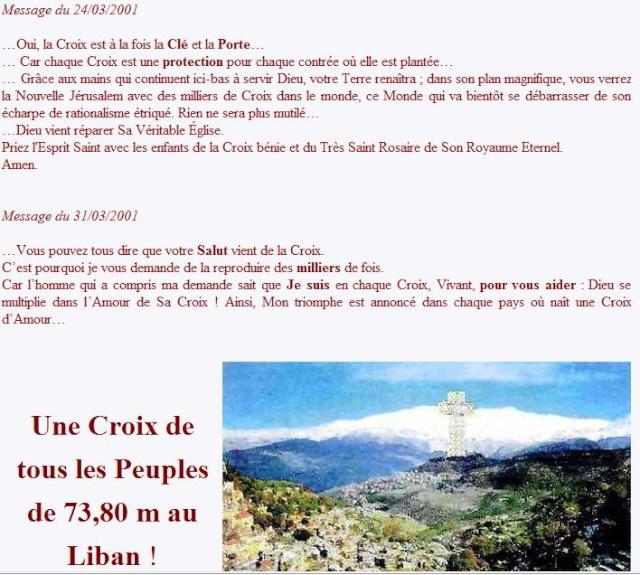 LIBAN 14-09-2010 -  LA CROIX DE TOUS LES PEUPLES ! 77777110