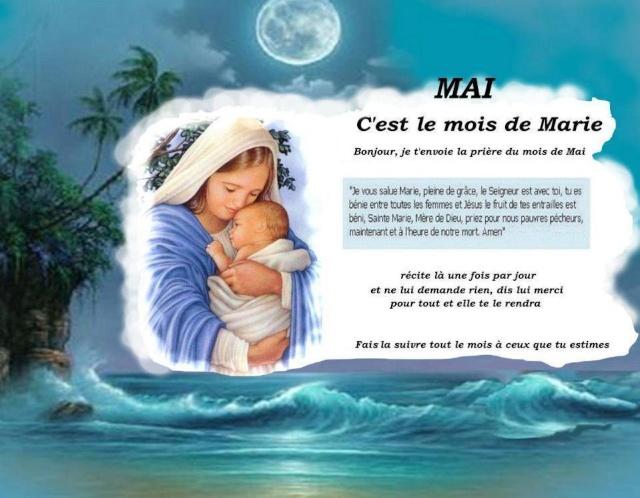 """"""" 31 Mai = 31ème Prière """" Mois de Marie offrons à notre Maman du ciel une petite couronne """" 21079211"""