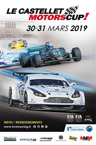Castellet Motors Cup 30-31 mars 2019 Affich10